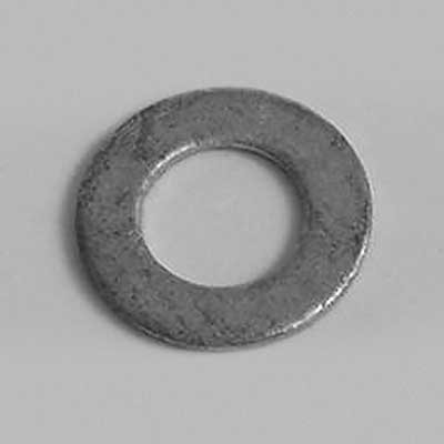 Galvanised and stainless steel washers