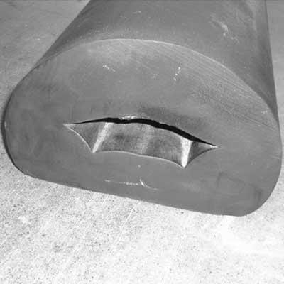 Semi Circular Fendering Hollow Profiles
